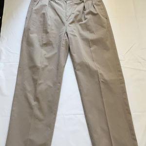Polo Ralph Lauren Andrew Chino Pants Pleated Sz 34